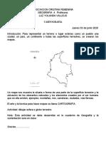 Activida de  GEOGRAFIA Grado 4 Cartografia.doc