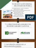 PROCURADURÍA AGRARIA Y EL RAN.
