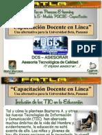 MATRIZ FODA. CAPACITACIÓN TECNOLÓGICA DOCENTE, UNIVERSIDAD BETA, MALVI MARCANO