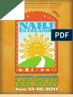 2011 NAHJ Sponsor/Exhibit/Advertise/Corporate Membership Kit