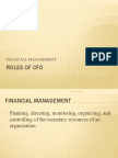Roles of Cfo