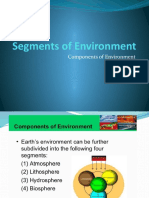 Components (Segments of Environment) & Ecology