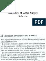 Lec # 2 Necessity  & WATER DEMAND
