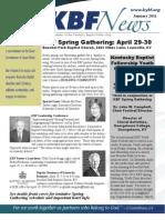 January 2011 KBF Newsletter