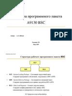 Структура программного пакета A9130 BSC
