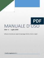 Manuale GEAR in Italiano