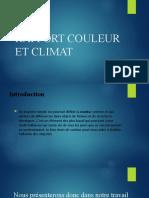 RAPPORT COULEUR ET CLIMAT.pptx