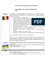 Final Informatii Privind Accesul Cetatenilor Republicii Moldova Pe Teritoriul Altor State