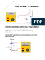 How to Know if MOSFET is Defective.docx