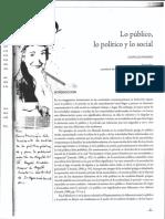 Anexo 3 Lo publico - lo politico y lo social.pdf