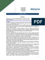 Noticias 10 de enero RWI - DESCO