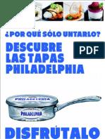 Recetario Philadelphia