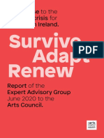 Survive Adapt Renew_A Response to the Covid-19 Crisis for the Arts in Ireland