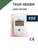 RADEX_manuel - Radon