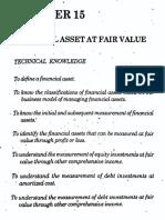 Chapter 15 - Financial Asset at Fair Value