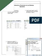 Administración y Funciones en un Sistema Operativo