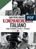Il cinema neorealista italiano di Gian Piero Brunetta