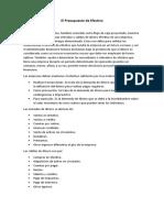 El Presupuesto de Efectivo - Presupuesto empresarial.docx