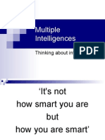 Multiple Intelligences - Lecture Notes