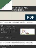 Physics 03-Work, Energy, and Momentum (2018)