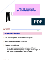 (The OSI Model and TCP IP Protocol Suite).ppt