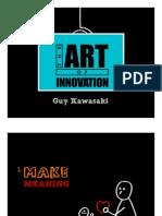 Guy Kawasaki-The Art of Innovation