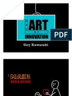 Guy Kawasaki-The Art of Innovation