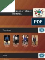 Valores Humanos o Virtudes Humanas (Grupo 1) - Copia