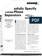 Three Phase Separators