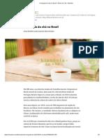 A chegada do chá no Brasil – Diário do Chá – Medium