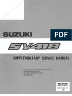 Service Manual Susuki Baleno Sy418