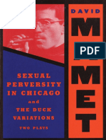 Sexual Perversity in Chicago and The Duck Variations Two Plays by Mamet David (z-lib.org)