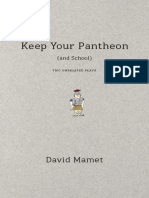 Keep Your Pantheon (and School) Two Unrelated Plays by Mamet David (z-lib.org)