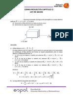 Ejercicios Resueltos Cap 2 Ley de Gauss