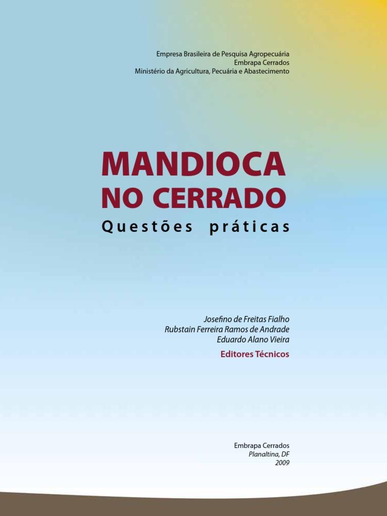 Cartilha Mandioca Embrapa PDF | Fertilizante | Agricultura