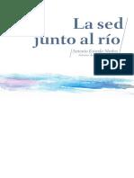 Antonio Estrada - La sed junto al rio