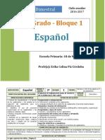 Plan 3er Grado - Bloque 1 Español (2015-2016).doc