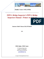 FHWA Bridge Inspector's Manual Culverts