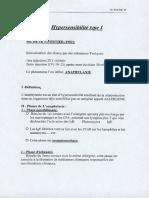 Immunologie Hypersensibilité I