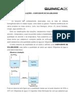 Estudo Das Solucoes Coeficiente de Solubilidade