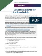 Youth Sports Can Begin Again In Minnesota
