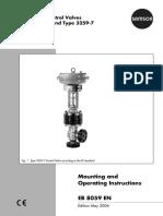 Manuals control valve