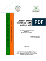 Leyes de Emergencia Económica en México y América Latina