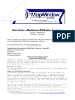 Quick Guide to MapWindow GIS