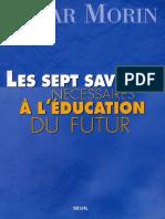 Les Sept savoirs nécessaires à l'éducation du futur 1999.pdf