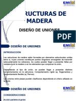 08 ESTRUCTURAS DE MADERAS - Diseño de Uniones