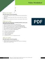 Skillful RW3 Unit 1 video worksheet