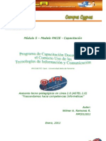 Ciclo de Diseño Fase Investigación FATLA Wilmer Ramones MPC012011