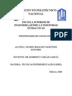 PROPIEDADES DE LOS RAYOS X BIEN