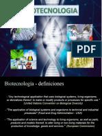 Biotecnologia historia y etica. UNIDAD I